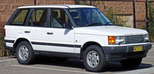 Tupac's Jeep Range Rover