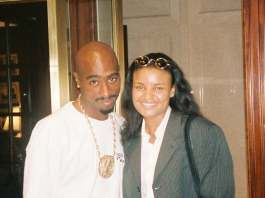 Tupac And Kim Sanders image