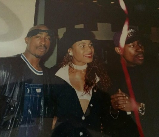 Rare Photo Of Tupac And Martin Lawrence image