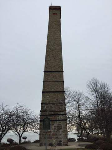 Port Hope chimney.