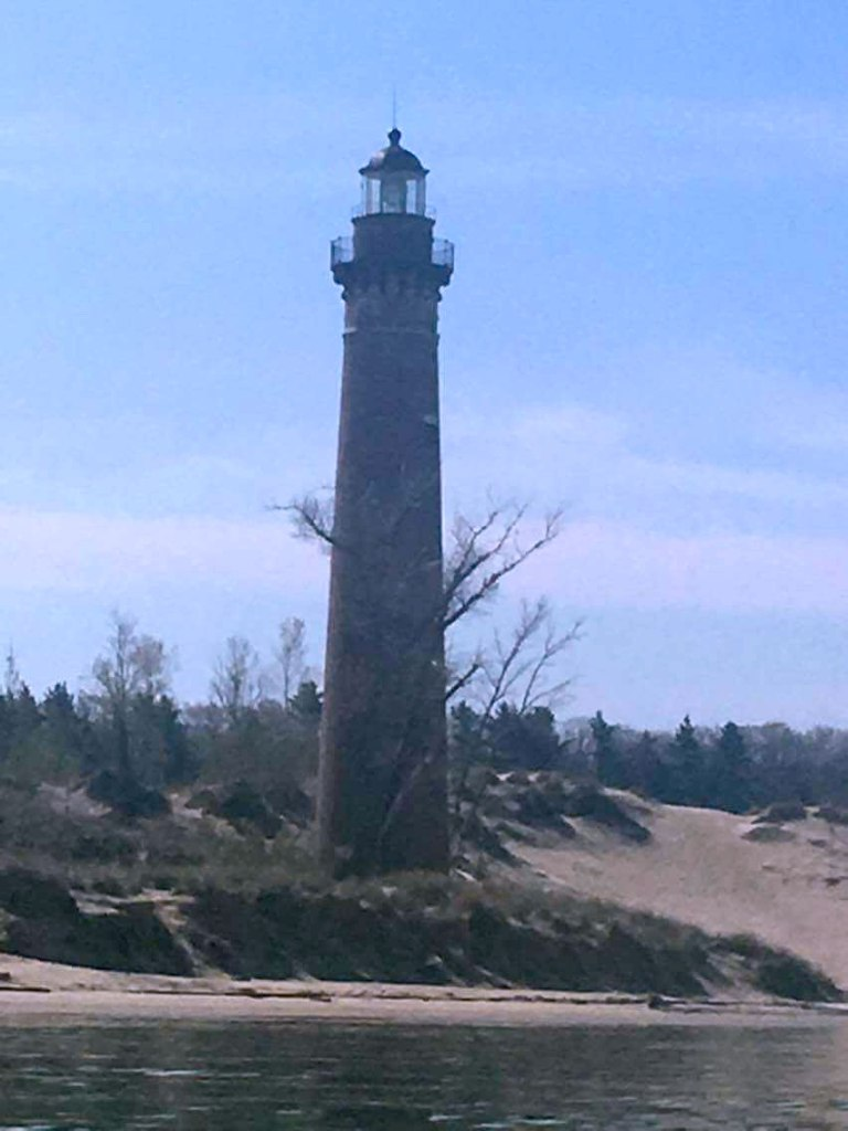 Little Sable Point Lighthouse at Silver Lake State Park, Michigan.