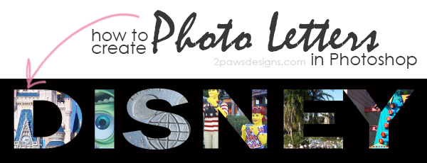 "Creating ""Photo Letters"" in Photoshop"