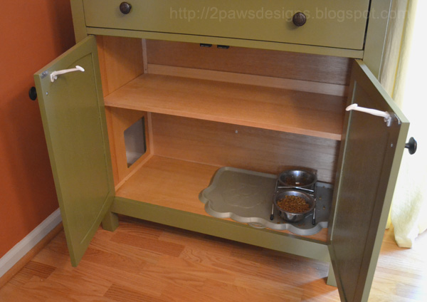 Cabinet Cat Food