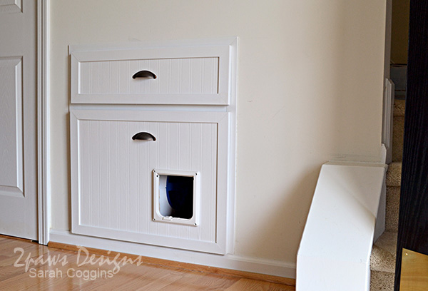 Under Stairs Drawers the cat drawer | 2paws designs