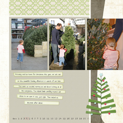 Dec 4th: the Tree