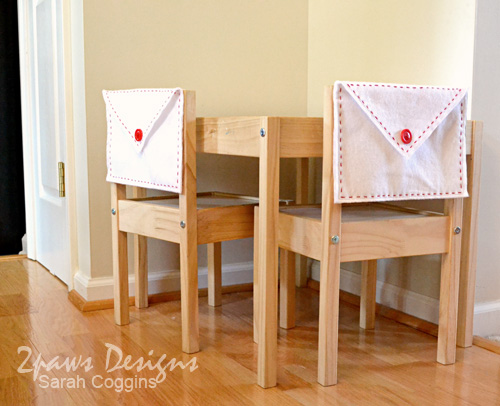 Valentine Envelope Chair Backers
