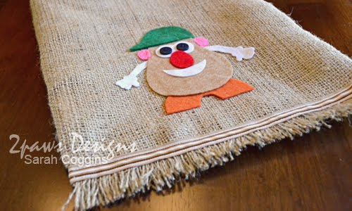 "Mr. Potato Head ""Potato Sack"" Parts Bag: Felt Potato"