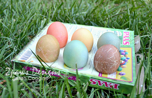 Easter Egg Dying: Drying