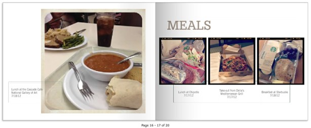 36 Hours photo book: Meals
