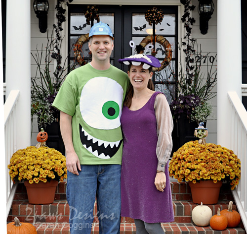 Happy Halloween – Monsters Inc Style
