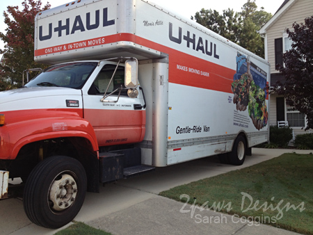 Moving Day 2012: U-Haul