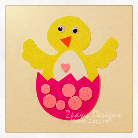 Friday Freebie: Easter Chick Craft