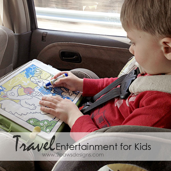 Keep kids entertained on your next long road trip with these easy & inexpensive ideas.