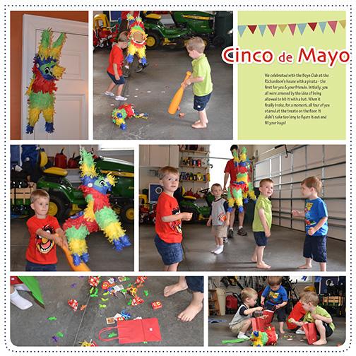 Cinco de Mayo Piñata Fun