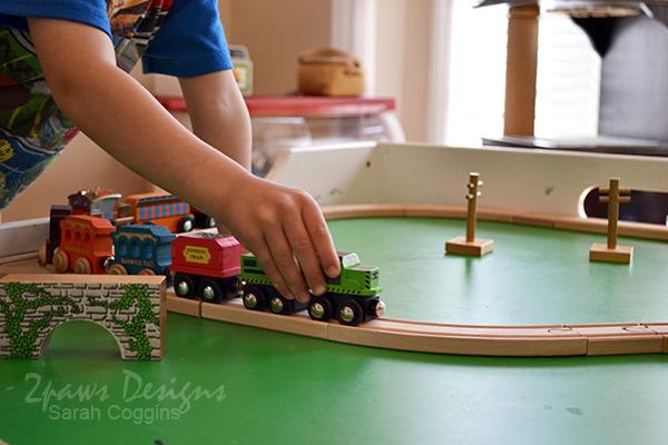 Playroom: Train Table