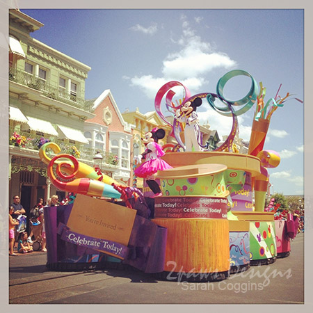 Wordless Wednesday: Celebrate a Dream Come True parade