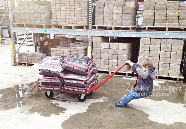 Exterior Projects: Mulch Load