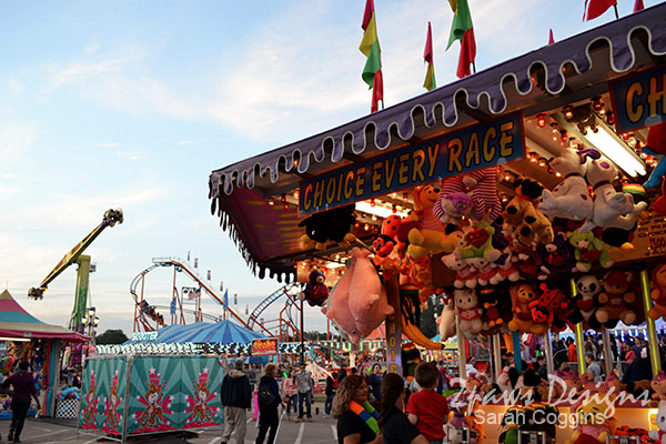 NC State Fair 2013: Midway