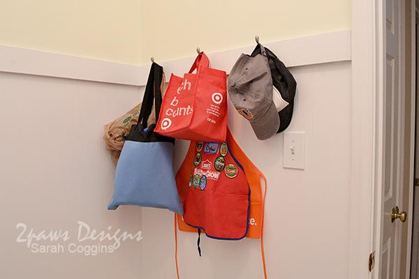 Laundry Room: Hooks