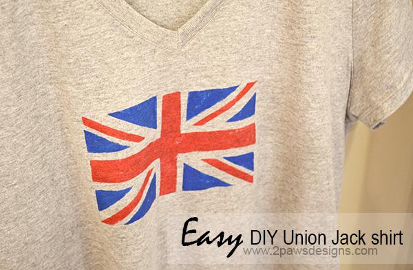 NYE 2013 and the DIY Union Jack shirt