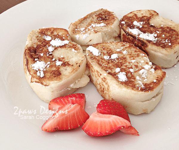 Peanut Butter & Banana Stuffed French Toast