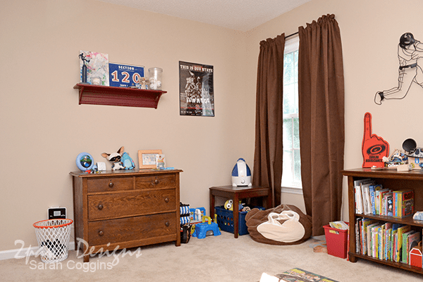 Sports Themed Room