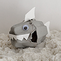 Shark Week: Egg Carton Shark