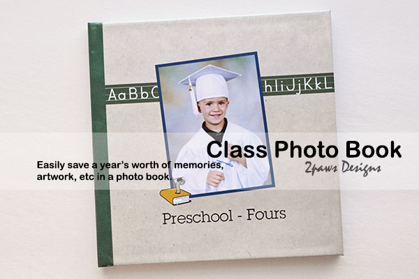 Preschool 4s Class Photo Book
