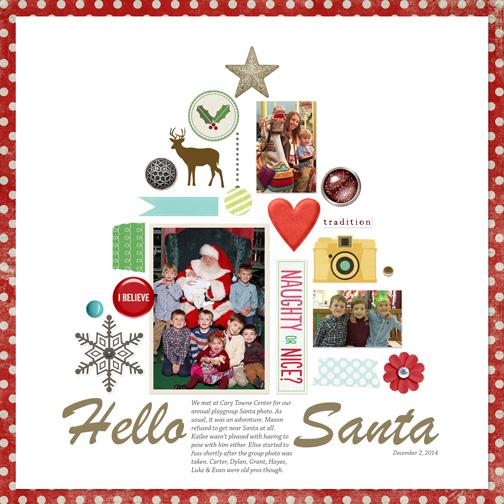 Hello, Santa