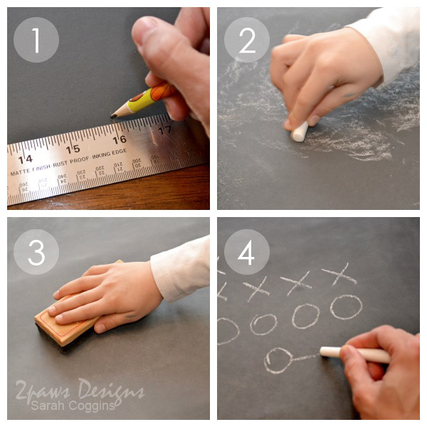 Chalkboard Football Decor Tutorial