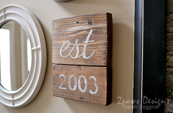 DIY Wood Sign