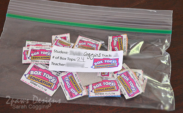 Box Tops Bagged