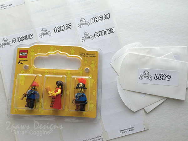 Lego Pirate Party: Goodies