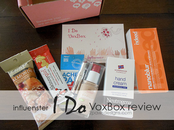 "Influenster ""I Do"" VoxBox Review"