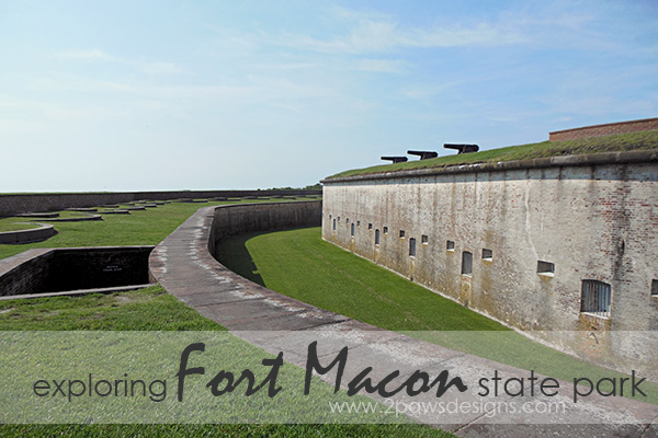 Exploring Fort Macon