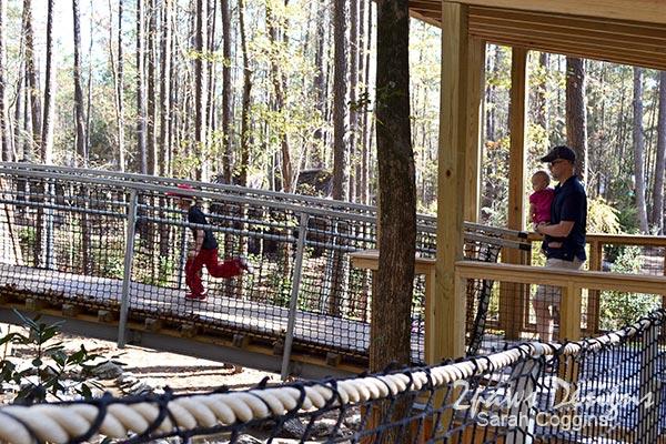 Museum of Life + Science: Hideaway Woods Treeehouses
