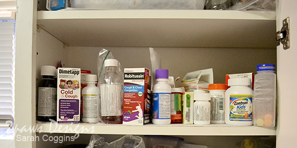 Medicine Cabinet Disaster: Before #HealthySavings #ad