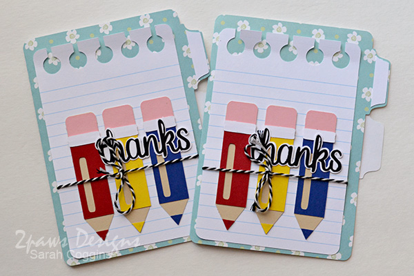 Teacher Appreciation Cards 2016