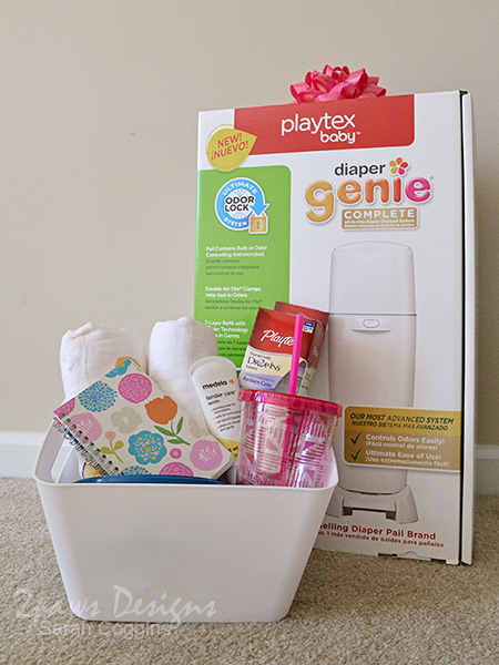 New Mom & Baby Must Haves Gift Basket #NurseryMusts #ad