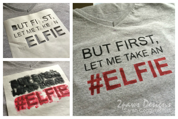 Christmas in April: the #Elfie Shirt