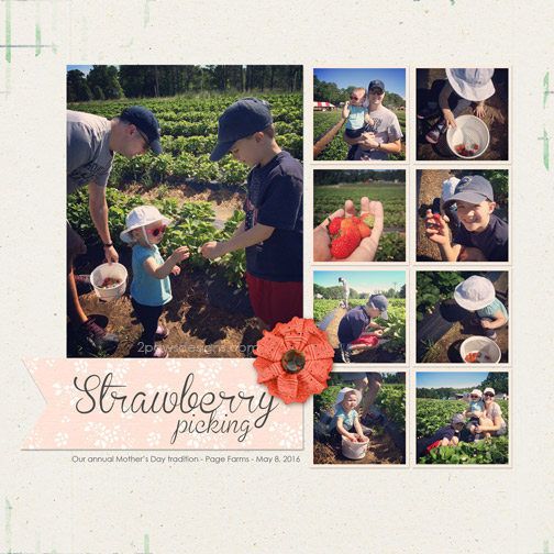 Mother's Day 2016: Strawberry Picking