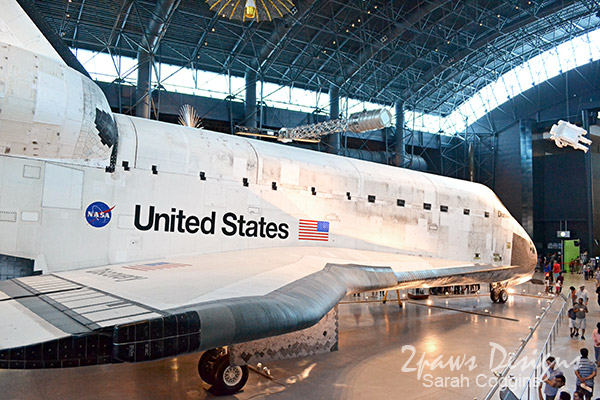 Air & Space: Udvar-Hazy Center - Space Shuttle Discovery