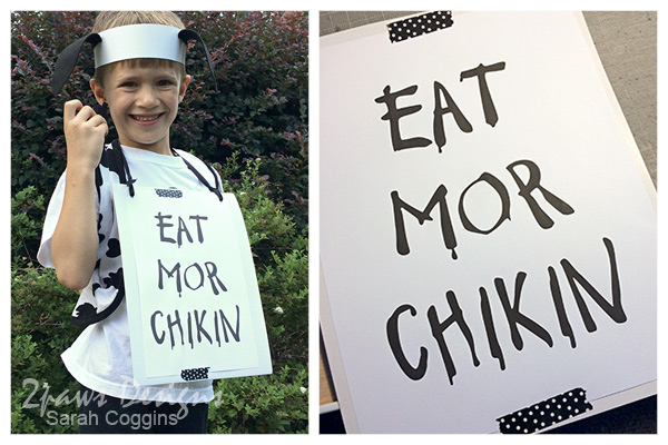 easy Cow Appreciation Day Costumes #CowAppreciationDay