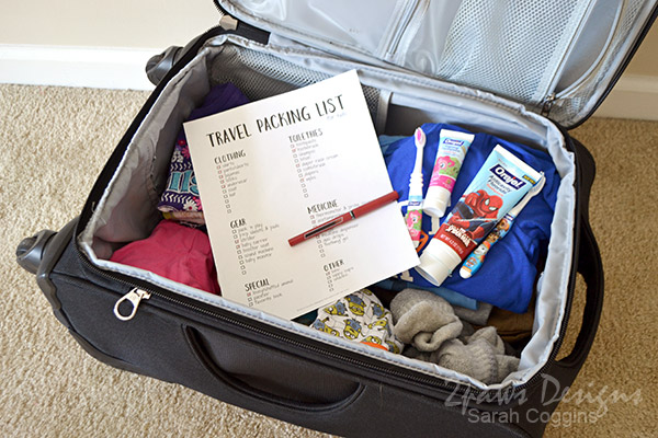 Travel with Kids: Packing