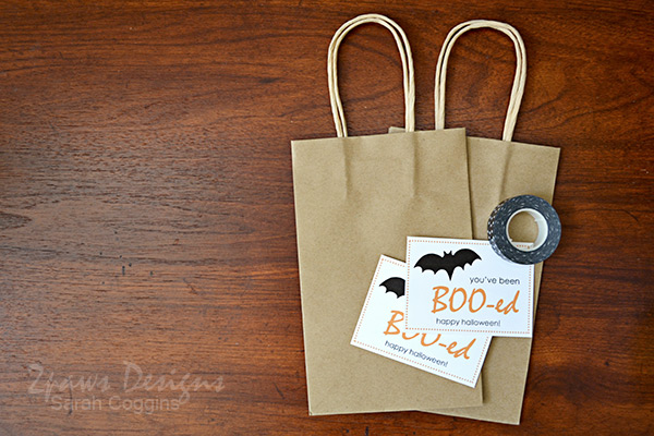 You've Been Boo-ed Tutorial with free Printable