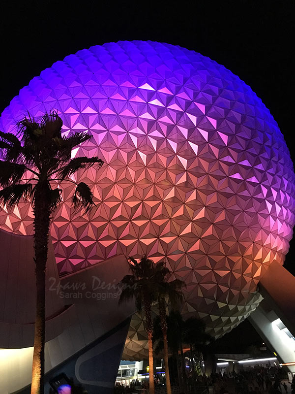 Project 52 Photos: Week 43 – EPCOT Spaceship Earth
