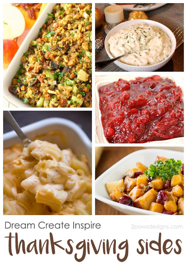 Dream Create Inspire: Thanksgiving Side Dishes