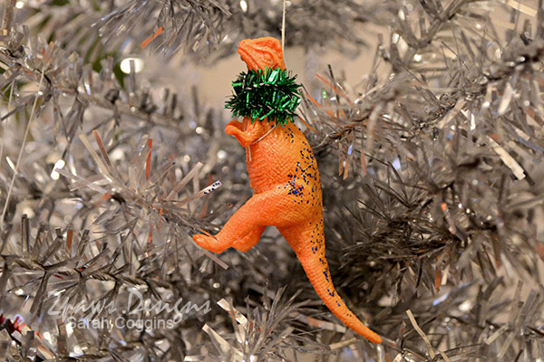 DIY Dinosaur Ornaments Tutorial