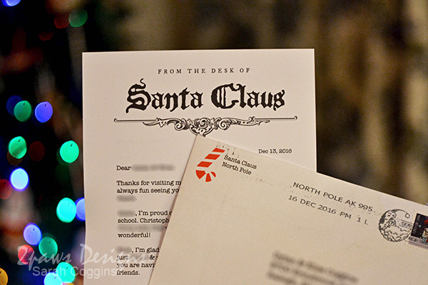 Project 52 Photos 2016: Letter from Santa