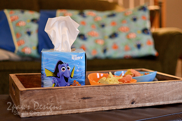 Finding Dory Pillowcase Tutorial